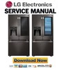 Thumbnail LG LSFXC2496D Refrigerator Service Manual & Repair Guide