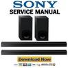Thumbnail Sony HT CT180 Service Manual & Repair Guide
