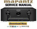 Thumbnail Marantz SR5012 Receiver Original Service Manual
