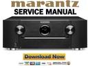 Thumbnail Marantz SR6012 Receiver Original Service Manual