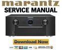 Thumbnail Marantz SR7011 Receiver Original Service Manual