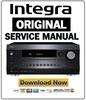 Thumbnail Integra DRC R1 Service Manual and Repair Guide
