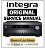 Thumbnail Integra DRX 3.1 Service Manual and Repair Guide