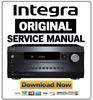 Thumbnail Integra DRX 7 Service Manual and Repair Guide