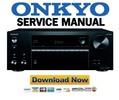 Thumbnail Onkyo TX NR575 Service Manual and Repair Guide