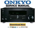 Thumbnail Onkyo TX RZ710 Service Manual and Repair Guide