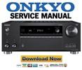 Thumbnail Onkyo TX RZ720 Service Manual and Repair Guide
