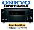 Thumbnail Onkyo TX RZ810 Service Manual and Repair Guide