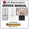 Thumbnail LG LFC24770ST LFC24770SW LFC24770SB Refrigerator Service Manual and Repair Guide
