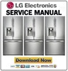Thumbnail LG LFX31945ST Refrigerator Service Manual and Repair Guide