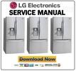 Thumbnail LG LFX33975ST Refrigerator Service Manual and Repair Guide