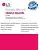 Thumbnail LG WT1901C WT1901CK WT1901CW Washer Service Manual
