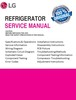 Thumbnail LG LMXS27626 LMXS27626ST LMXS27626SB LMXS27626SW Original Service Manual
