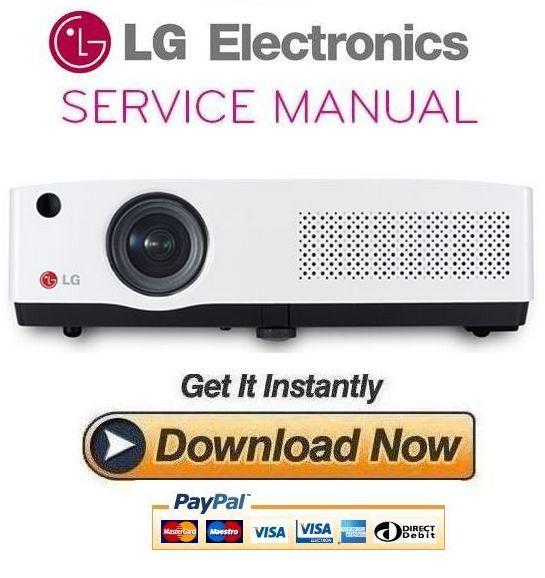 Thumbnail LG BD450 Projector Service Manual and Repair Guide