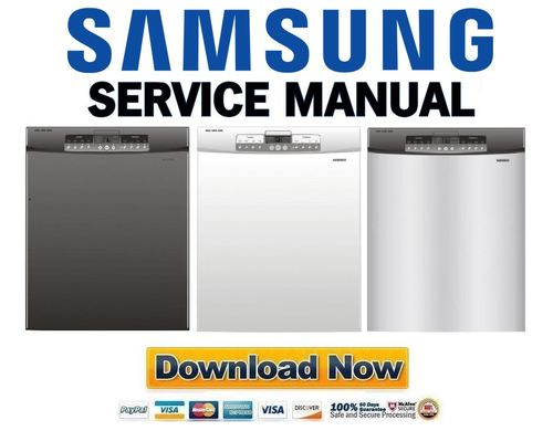 samsung db3710db db5710dt db3710dw dishwasher service manual and re rh tradebit com samsung dishwasher dmt 300 repair manual samsung dmr78 dishwasher repair manual