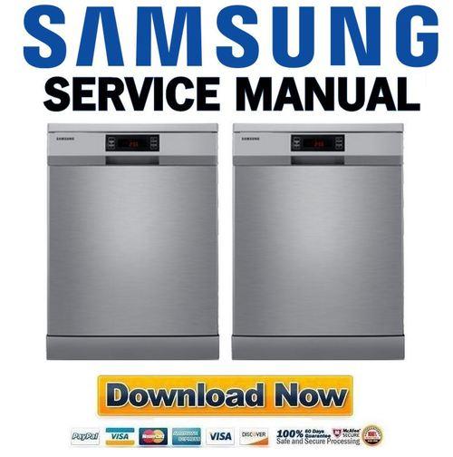 samsung dw fn320t dishwasher service manual and repair guide down rh tradebit com samsung dishwasher repair manual dw80f800uws samsung dishwasher repair manual dw80f800uws