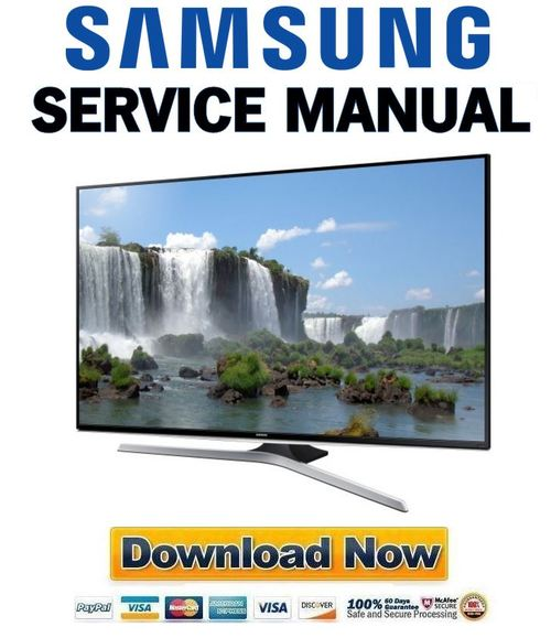Pay for Samsung UN65J6300 UN65J6300AF UN65J6300AFXZA Service Manual