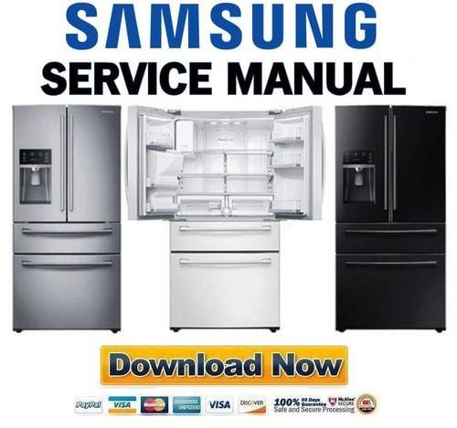 samsung rf28hmedbsr rf28hmedbbc rf28hmedbww service manual downlo rh tradebit com samsung refrigerator model rs265tdrs manual samsung refrigerator rs265tdrs service manual