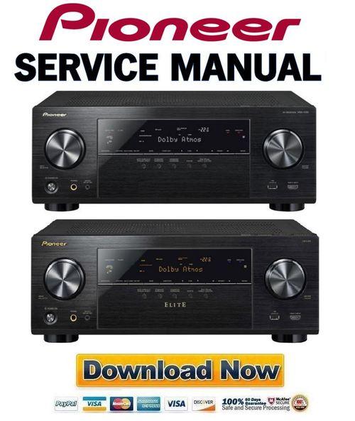 pioneer vsx 1130 k elite vsx 90 service manual and repair guide rh tradebit com pioneer elite vsx-30 manual pioneer vsx 30 service manual
