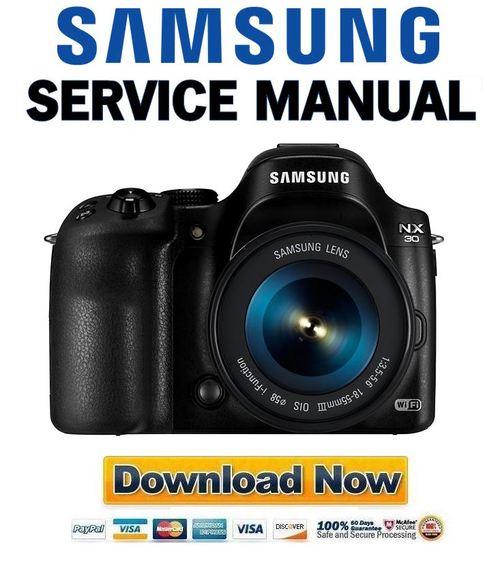 samsung nx30 service manual and repair guide download manuals am rh tradebit com Samsung Parts Manual Samsung PN51F8500 Service Manual