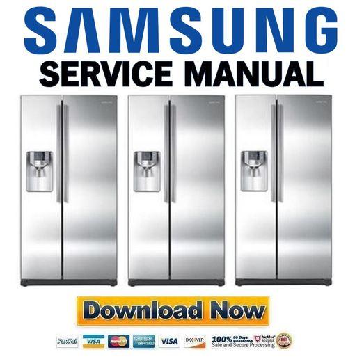 samsung rs265tdrs service manual and repair guide download manual rh tradebit com samsung refrigerator rs265tdrs service manual rs265tdrs service manual free