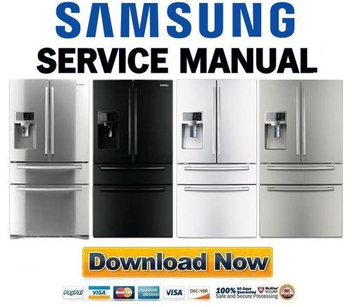 samsung rf4287hars rf4287habp rf4287hawp rf4287hapn service manual rh tradebit com 4 Door Samsung Refrigerator Manual Samsung RF4289HARS Manual