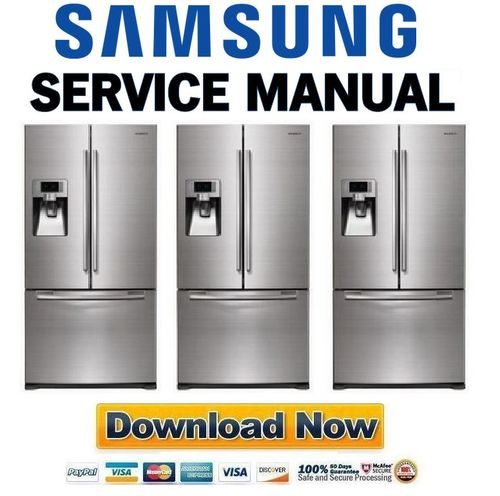 Samsung RFG297AARS Refrigerator Service Manual Download Manuals