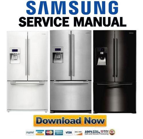 samsung rf268abrs rf268abwp rf268abbp rf268abpn service manual d rh tradebit com Samsung Model RF268ABRS Samsung Model RF268ABRS French Door Refrigerator