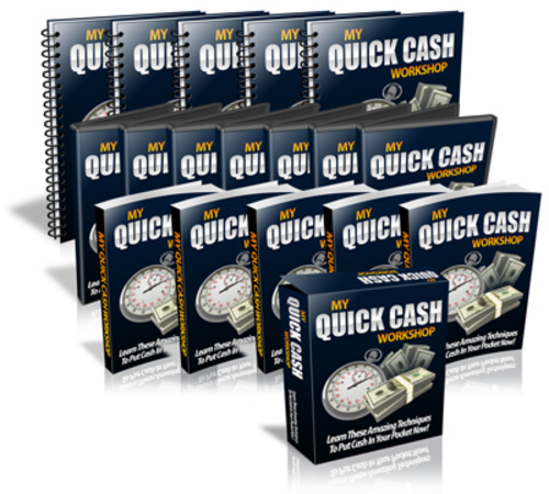 Pay for My Quick Cash Workshop Videos