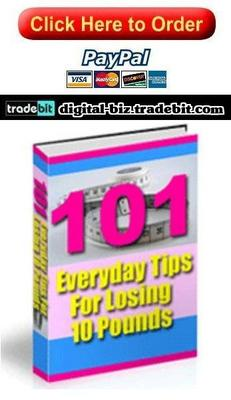 Pay for 101 Everyday Ways to Lose 10 Pounds