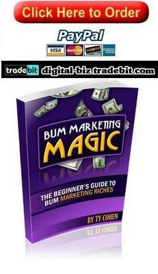 Pay for Bum Marketing Magic