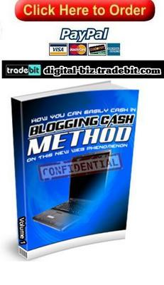 Pay for Blogging Cash Method