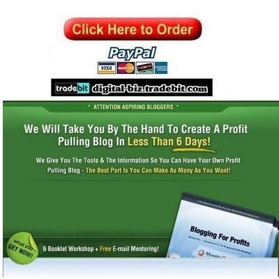 Pay for Blog Workshop