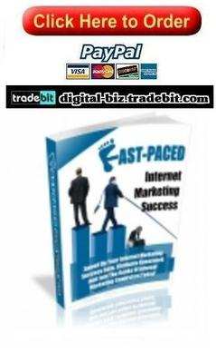 Pay for Fast Paced Internet Marketing Success