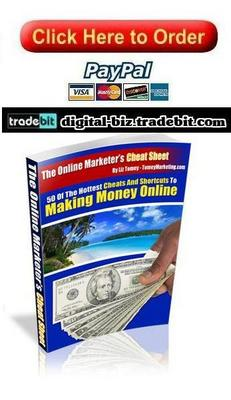 Pay for The Online Marketers Cheat Sheet
