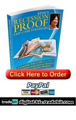 Pay for Recession Proof Fast Cash Strategies