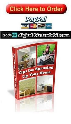 Pay for Tips for Sprucing Up Your Home