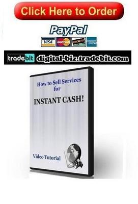 Pay for How To Sell Services For Instant Cash