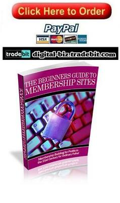Pay for The Beginners Guide To Membership Sites