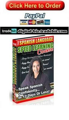 Pay for The Spanish Language Speed Learning