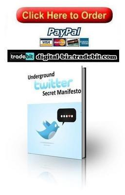 Pay for Underground Twitter Secret Manifesto