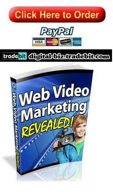 Pay for Web Video Marketing Revealed