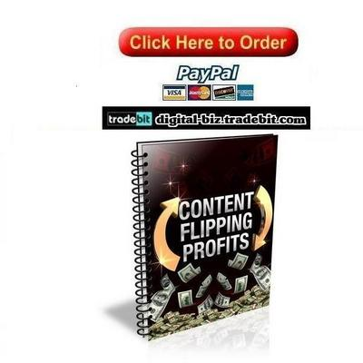 Pay for Content Flipping Profits