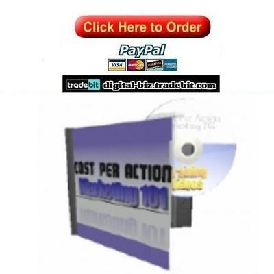 Pay for Cost Per Action Marketing 101