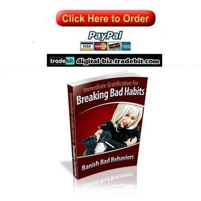 Pay for Immediate Gratification For Breaking Bad Habits