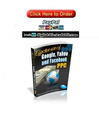 Pay for Effective Use Of Google, Yahoo And Facebook PPC