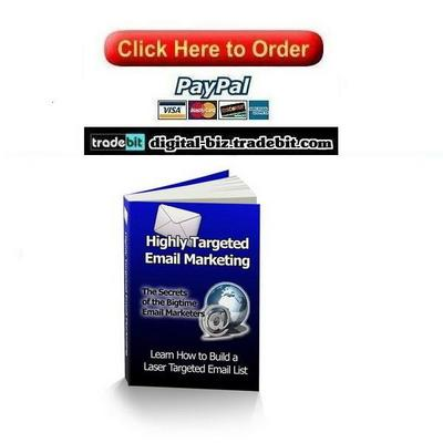Pay for Highly Targeted Email Marketing