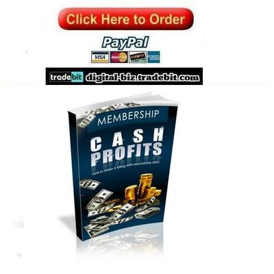 Pay for Membership Cash Profits