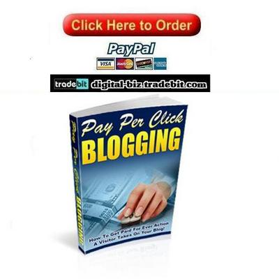 Pay for Pay Per Click Blogging