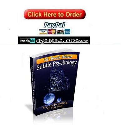 Pay for The Secrets Behind Subtle Psychology